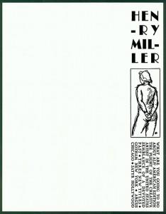 Henry Miller, 1944