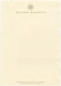 Nelson Mandela, 2001